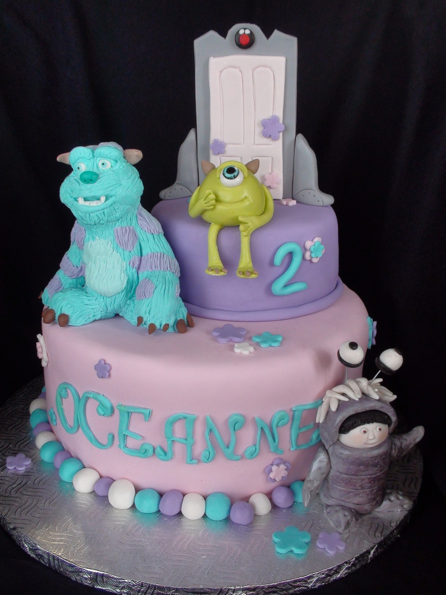 Monster Inc. on Cake Central