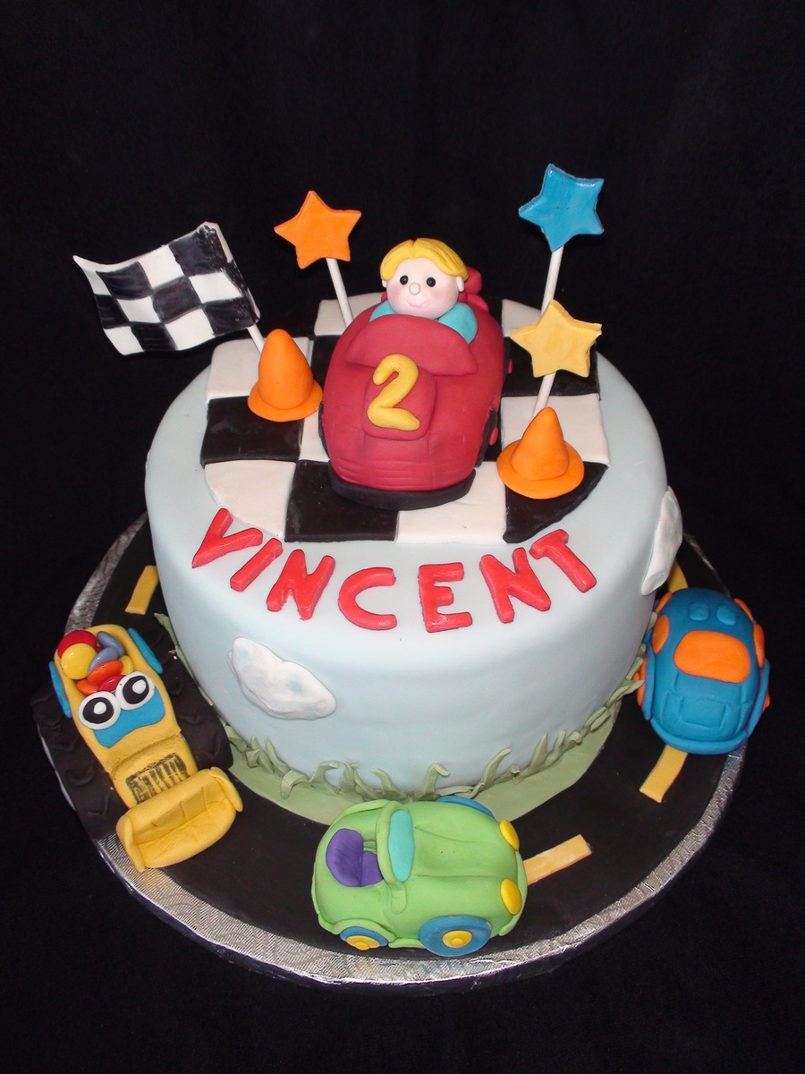Little Boy Cars & Truck Toys  on Cake Central