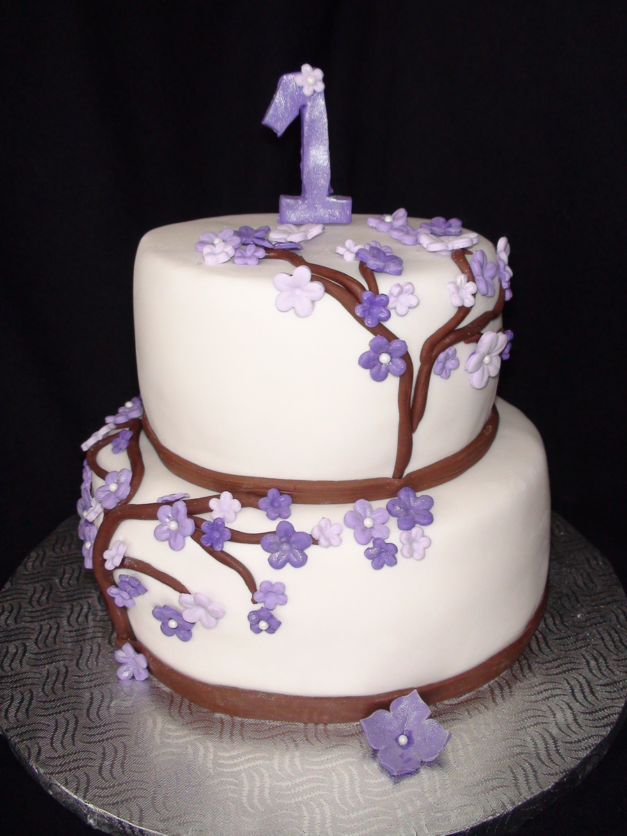 Flower Tree Cake on Cake Central