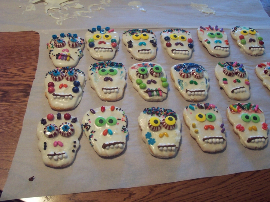 Day Of The Dead Cookies  on Cake Central