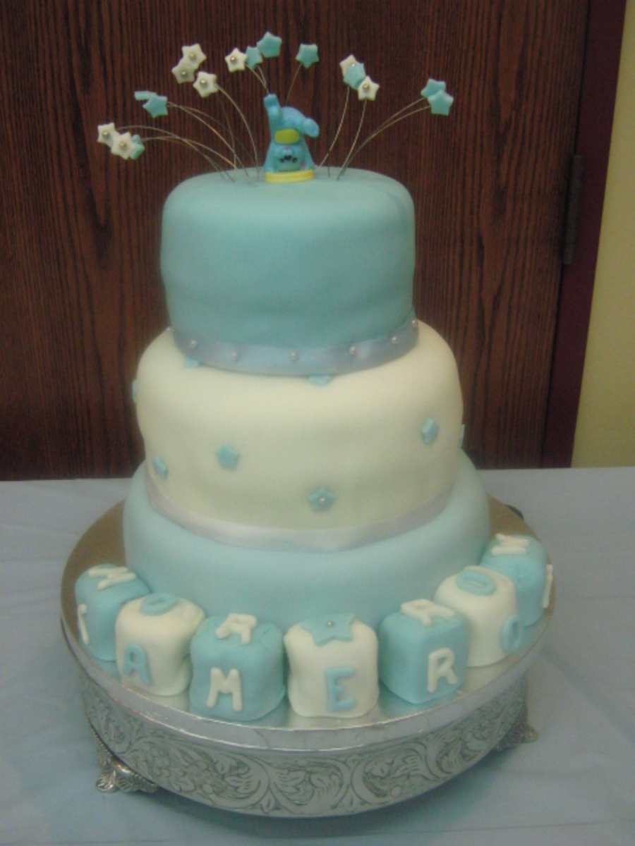 Baby Shower Cake Replica on Cake Central