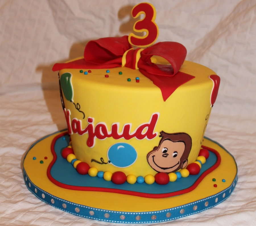 curious george cake curious george cakecentral 3237