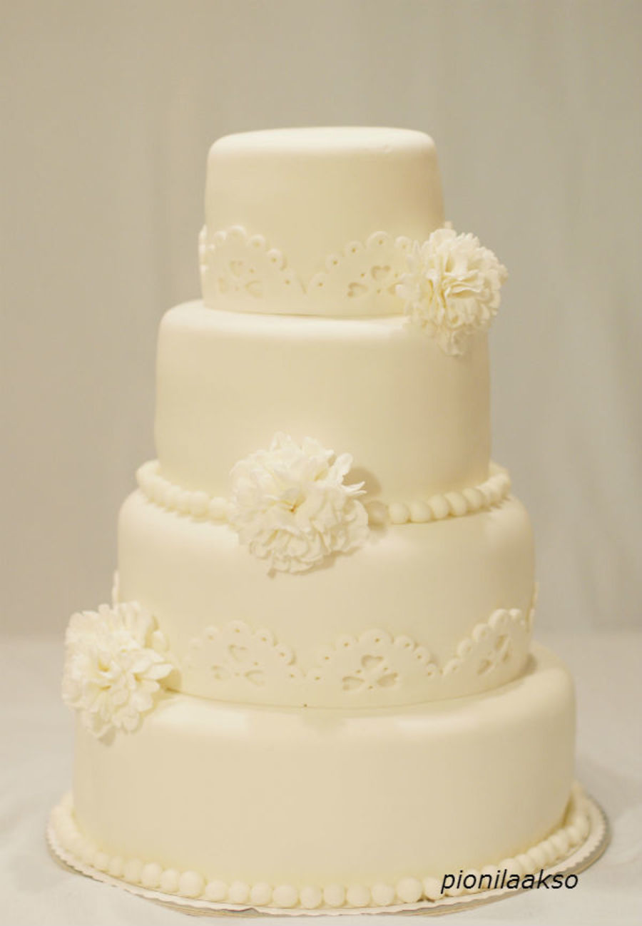 Carnican Wedding Cake on Cake Central