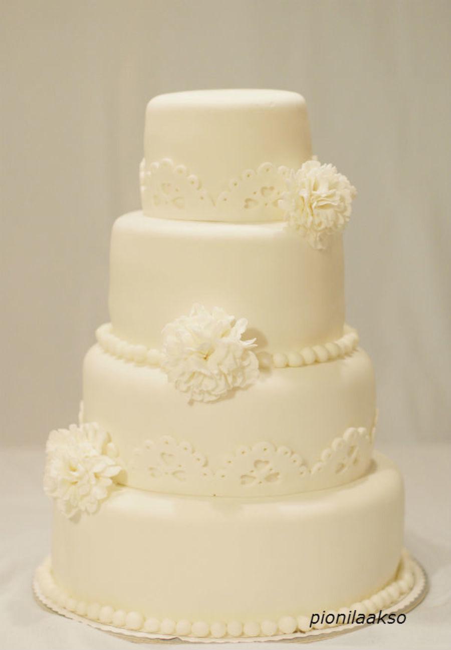 Carnican Wedding Cake - CakeCentral.com