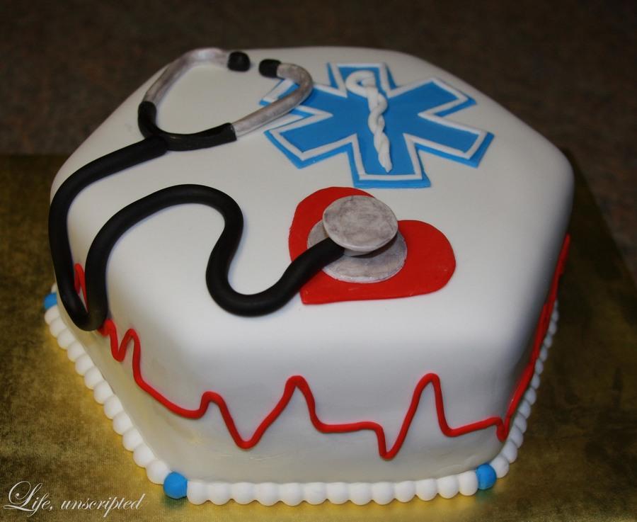 Emt Graduation Cakes