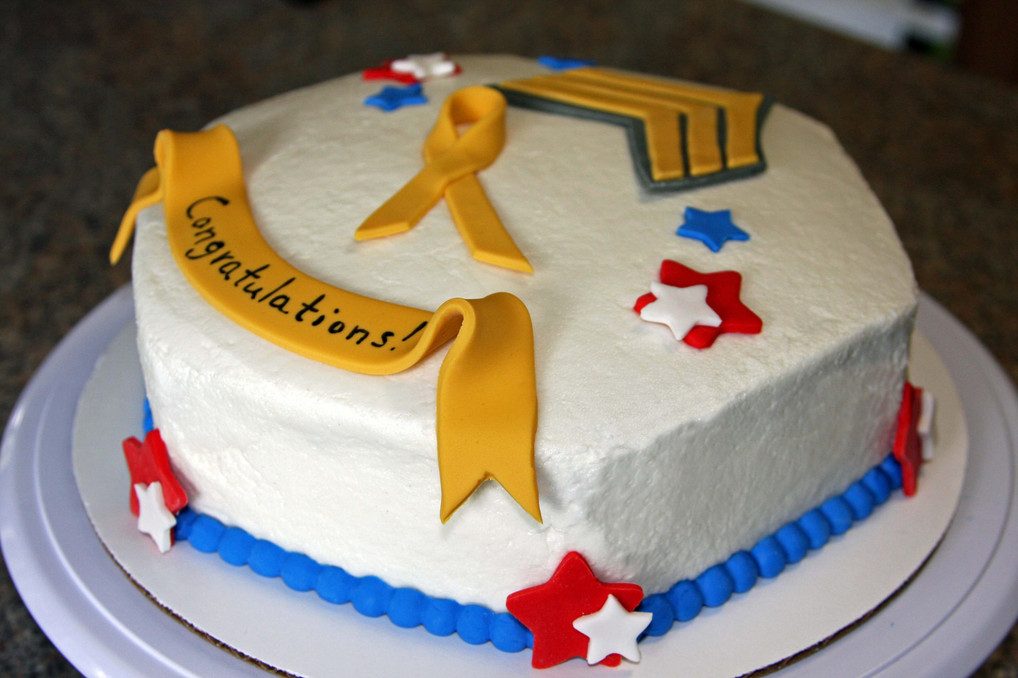 Army Promotion Cake - CakeCentral.com