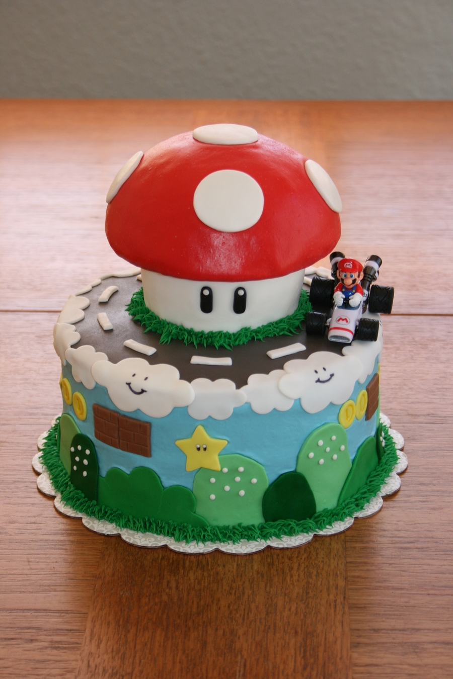 Mario Cake on Cake Central