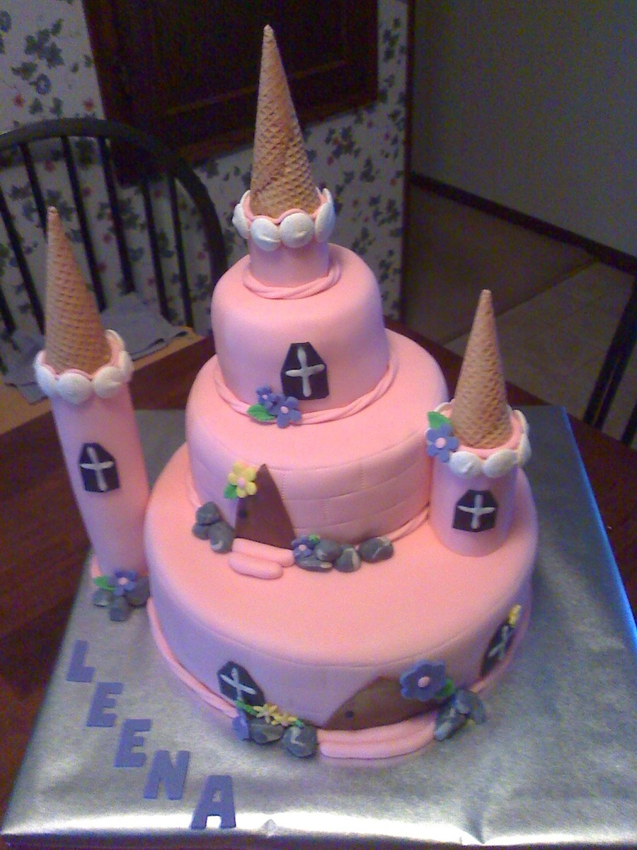 Princess Castle on Cake Central