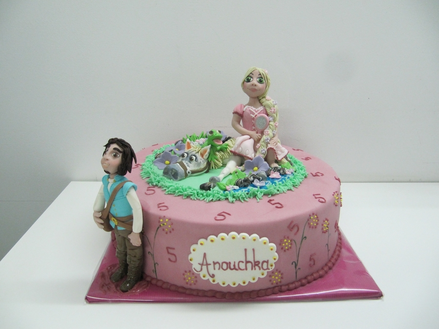Rapunzel With Prince on Cake Central