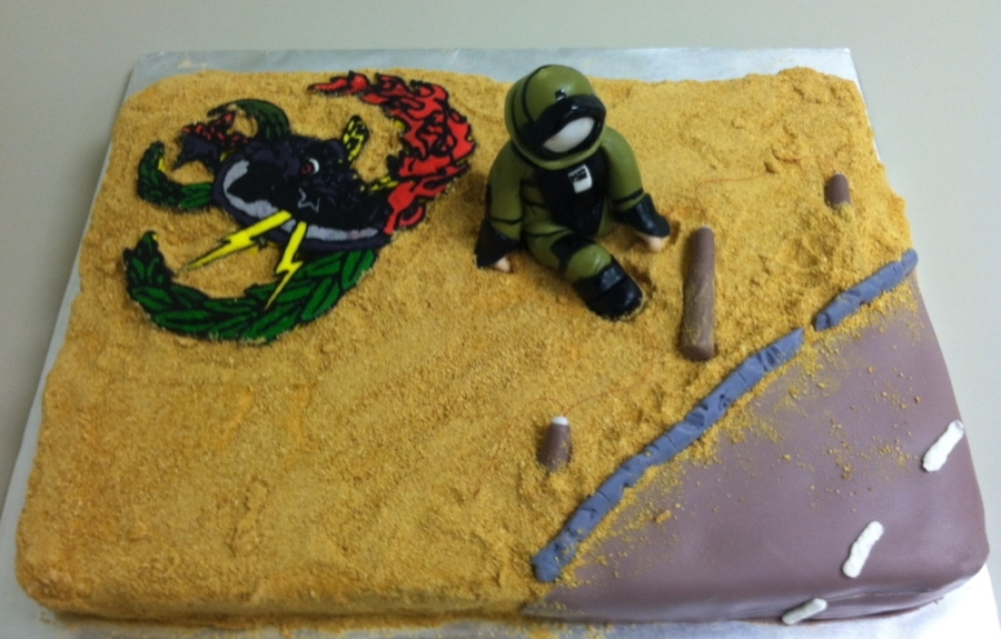 Eod Bomb Disposal on Cake Central