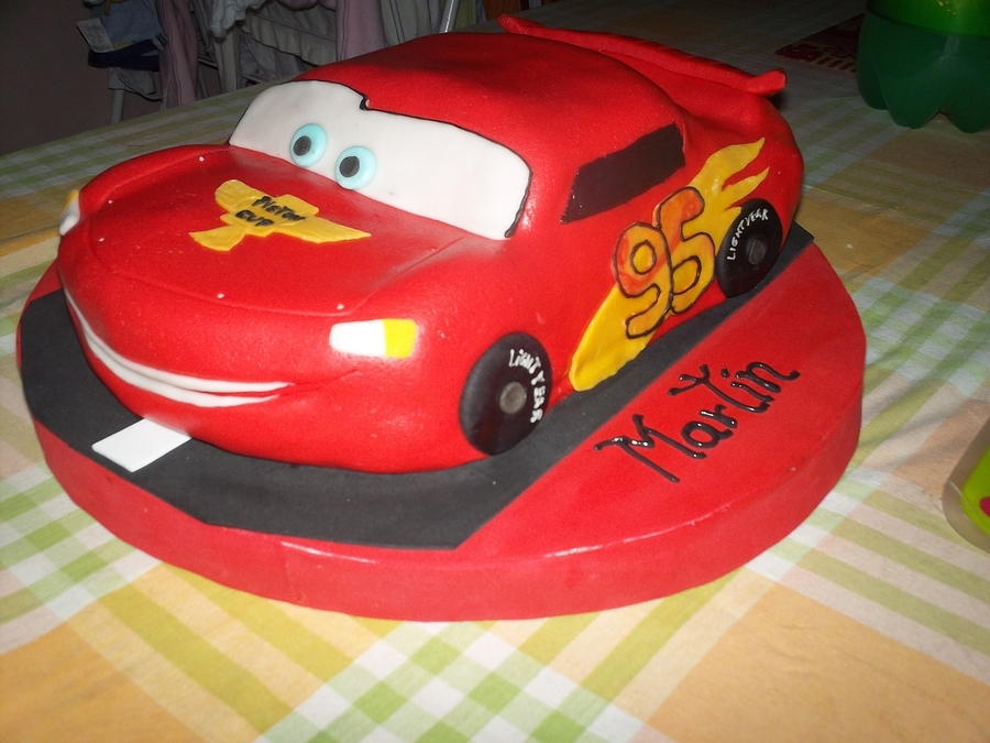 Rayo Mcqueen on Cake Central