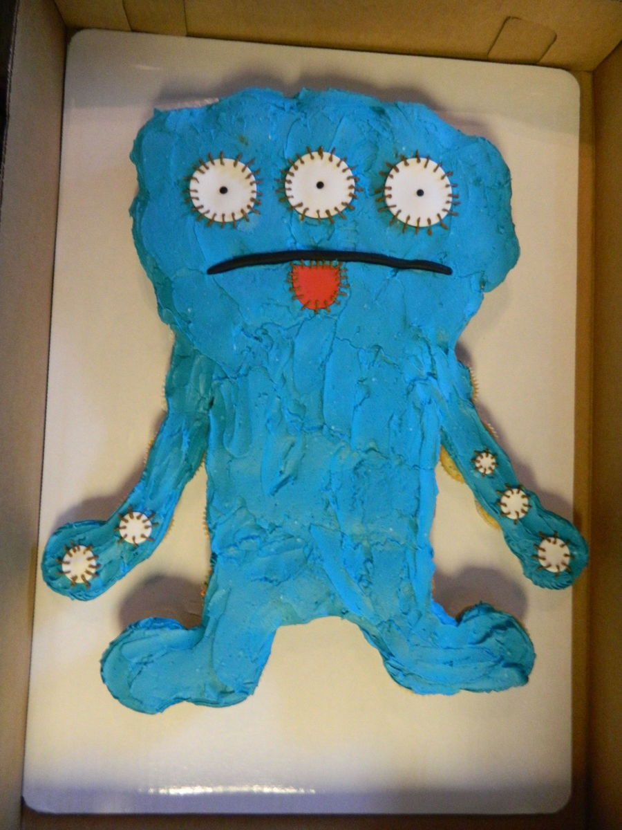 Super Ugly Doll Cake Cakecentral Com Funny Birthday Cards Online Alyptdamsfinfo