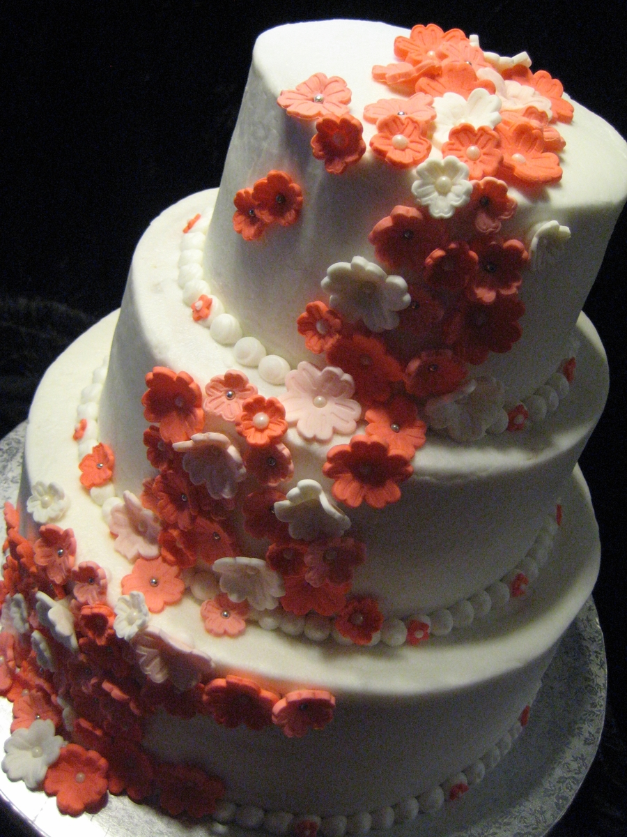 Coral Themed La Quinceanera on Cake Central
