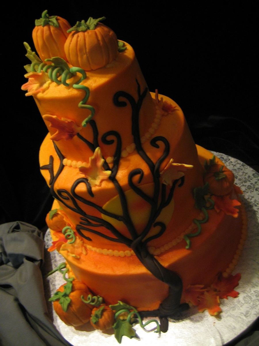 Autumn Glory on Cake Central