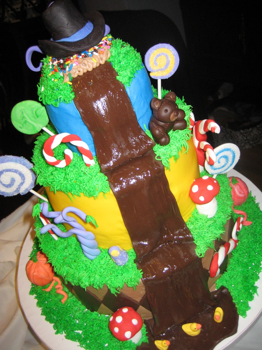 Charlie And The Chocolate Factory Cake Ideas