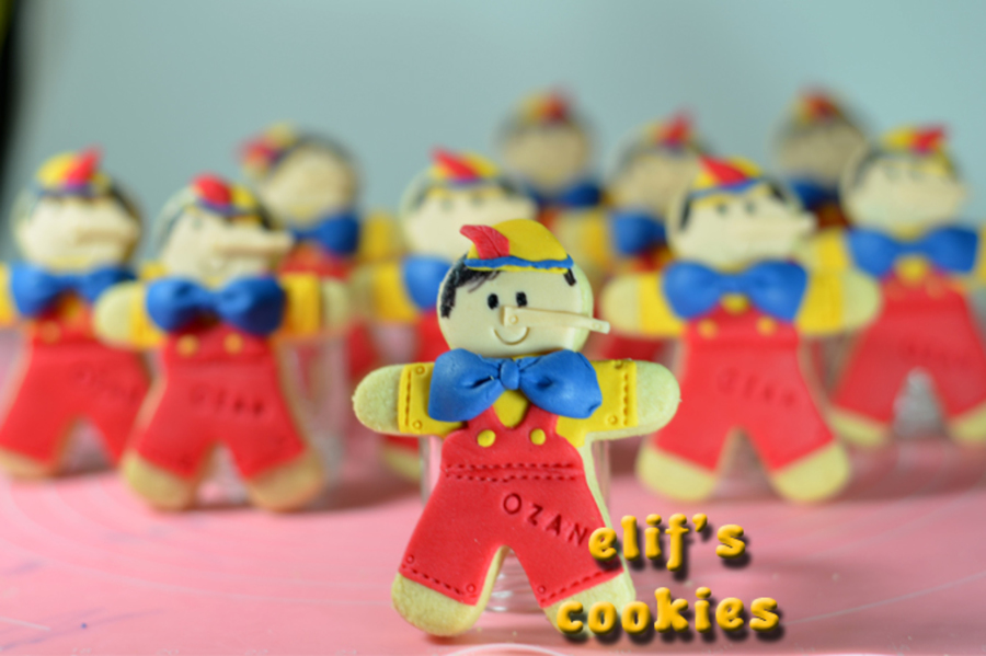 Pinocchio Cookies on Cake Central