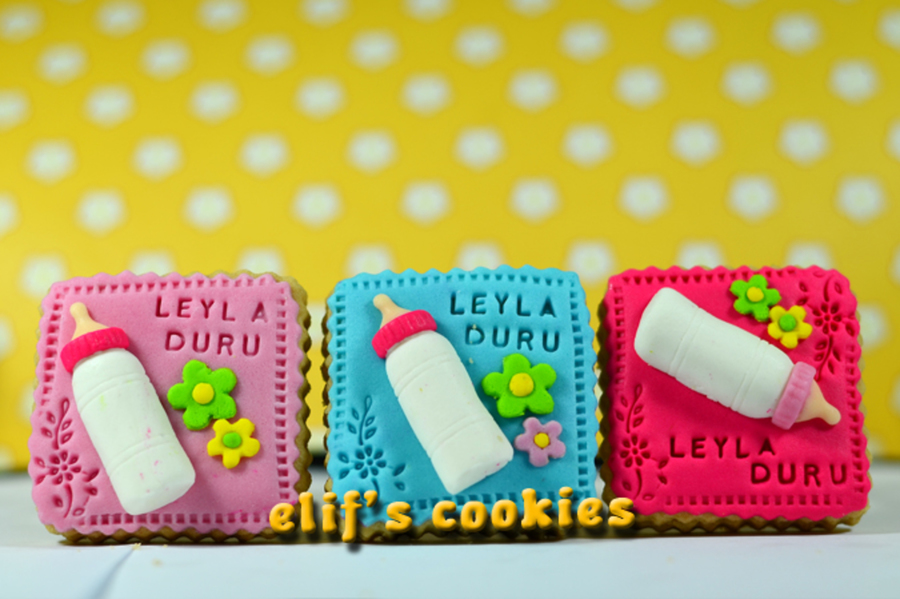 Baby Bottle Cookies on Cake Central