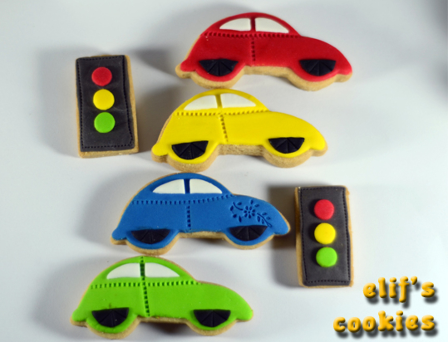 Cars Cookies on Cake Central
