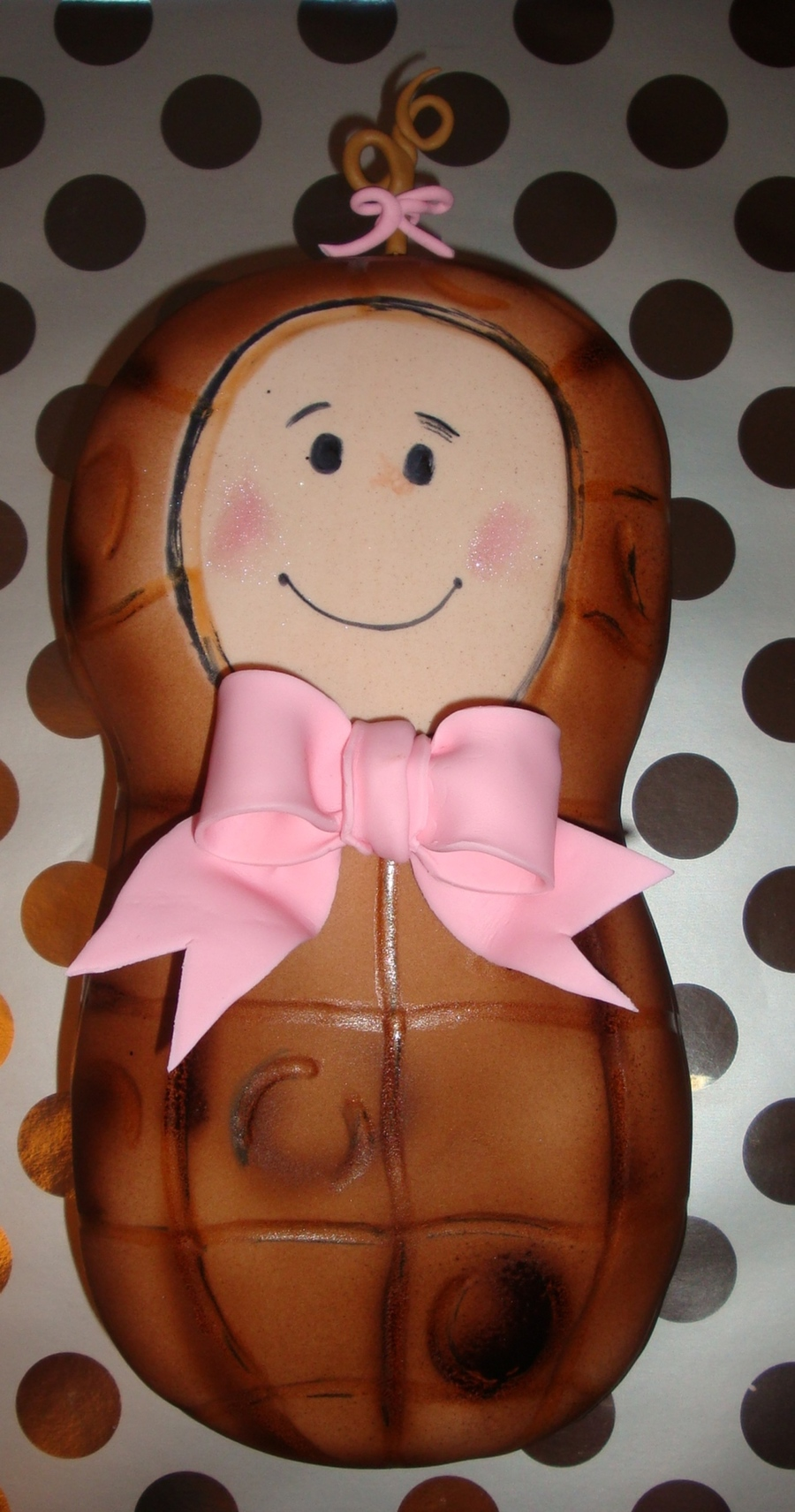 Baby Peanut  on Cake Central
