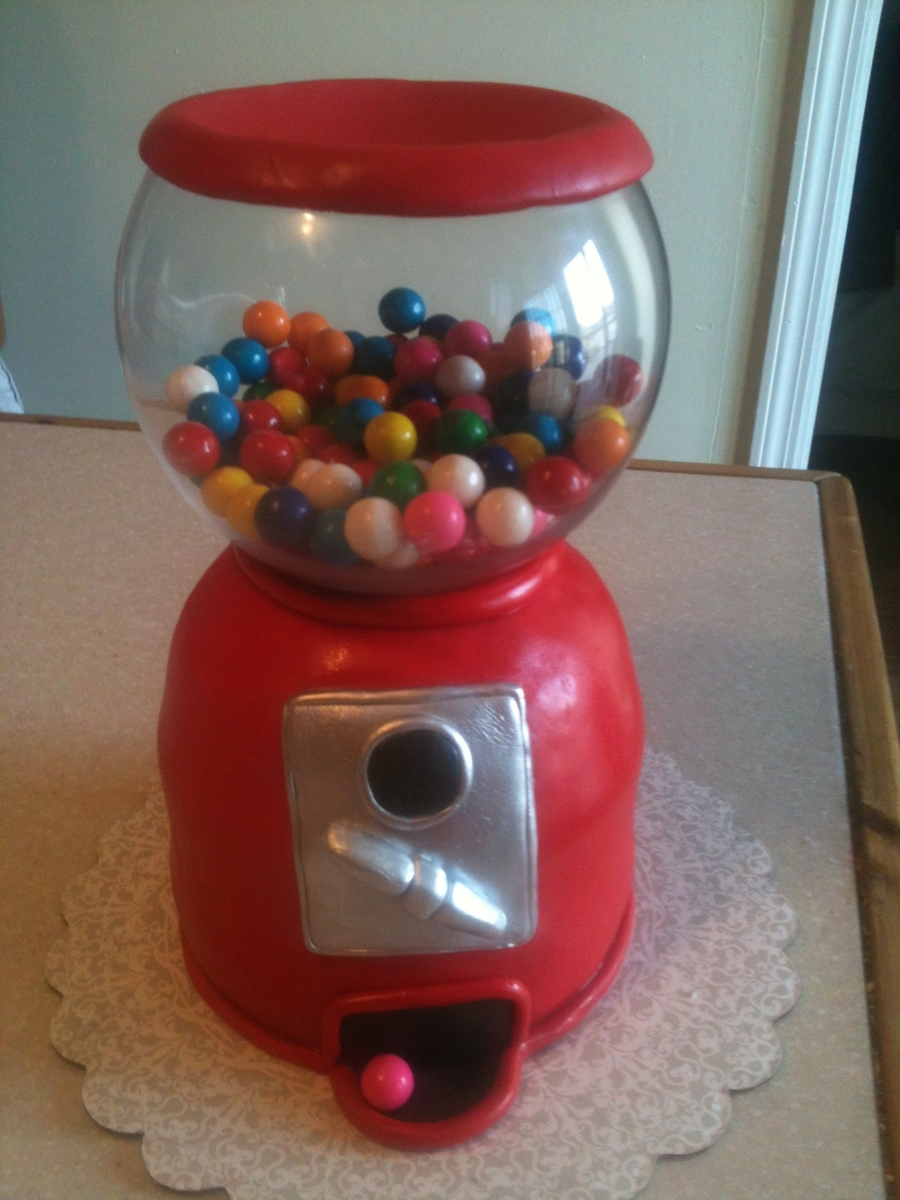 Gumball Machine Cake on Cake Central