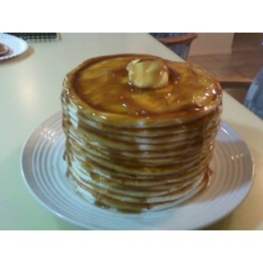 Pancakes!!! on Cake Central
