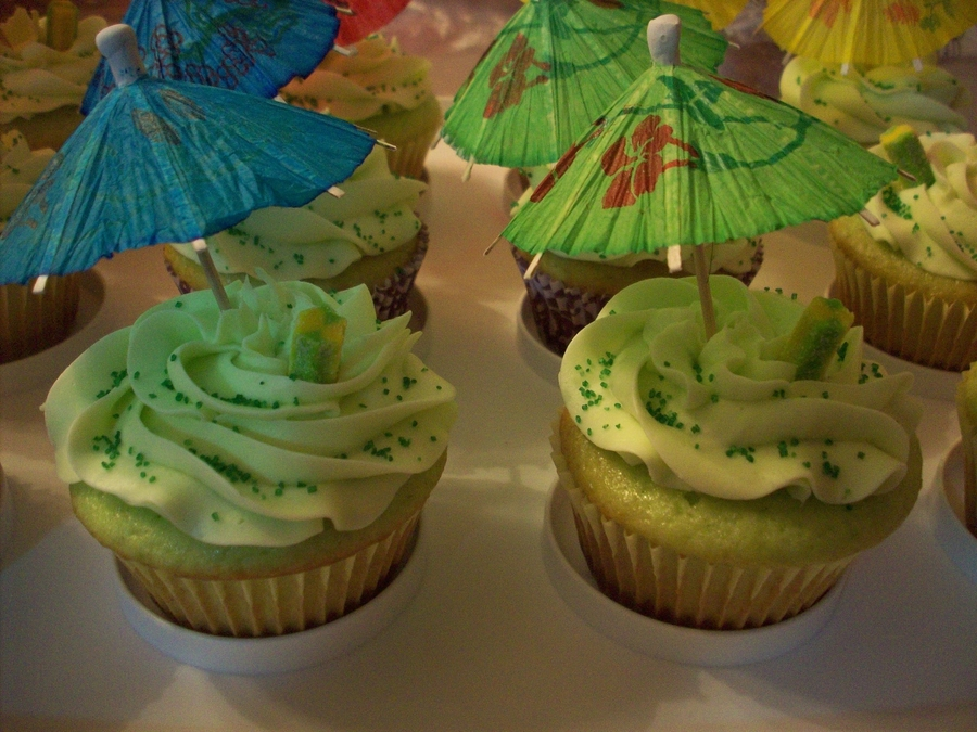 Margarita Cupcakes For Cinco De Mayo Party At Work! on Cake Central