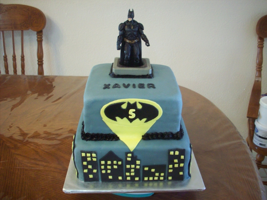 Batman Dark Night Rises on Cake Central