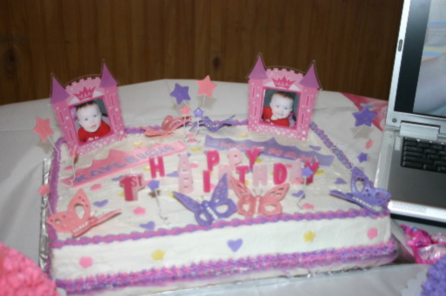 1st Birthday Cake For Twins Cakecentral