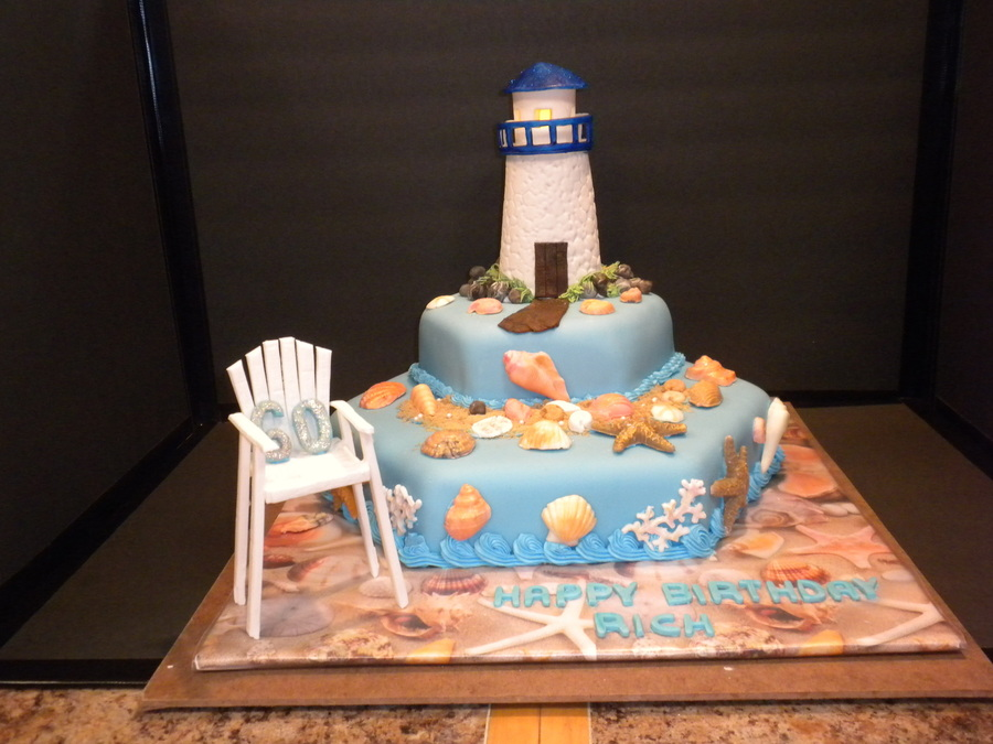 Beach Themed Birthday Cake Recipe