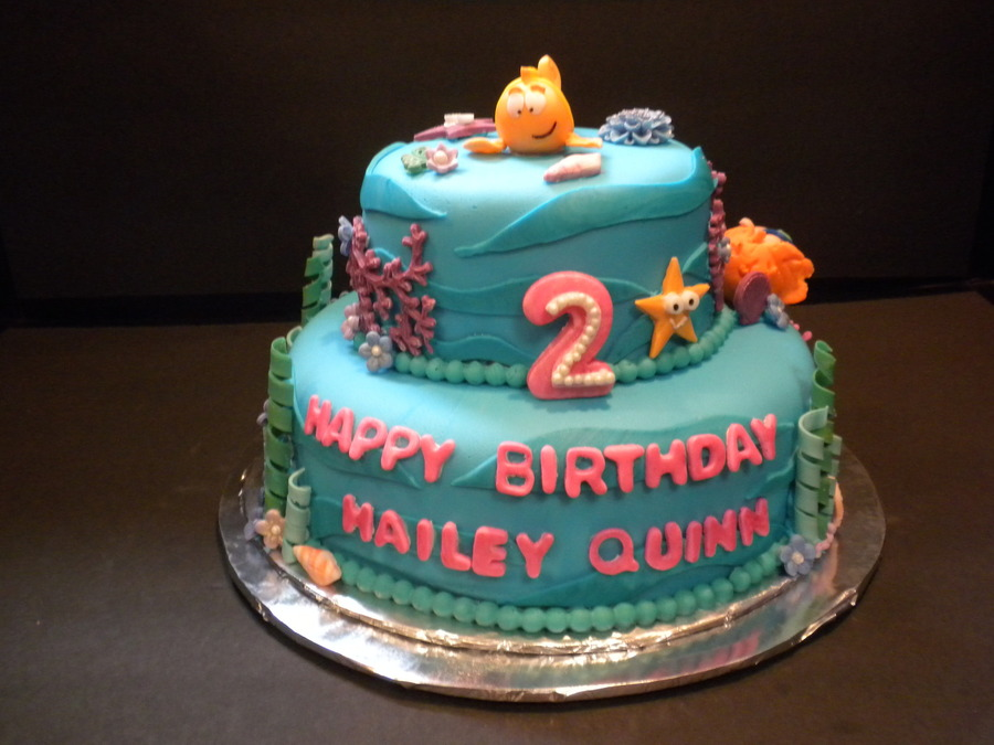 Bubble Guppies Cartoon Birthday Cake Cakecentral Com