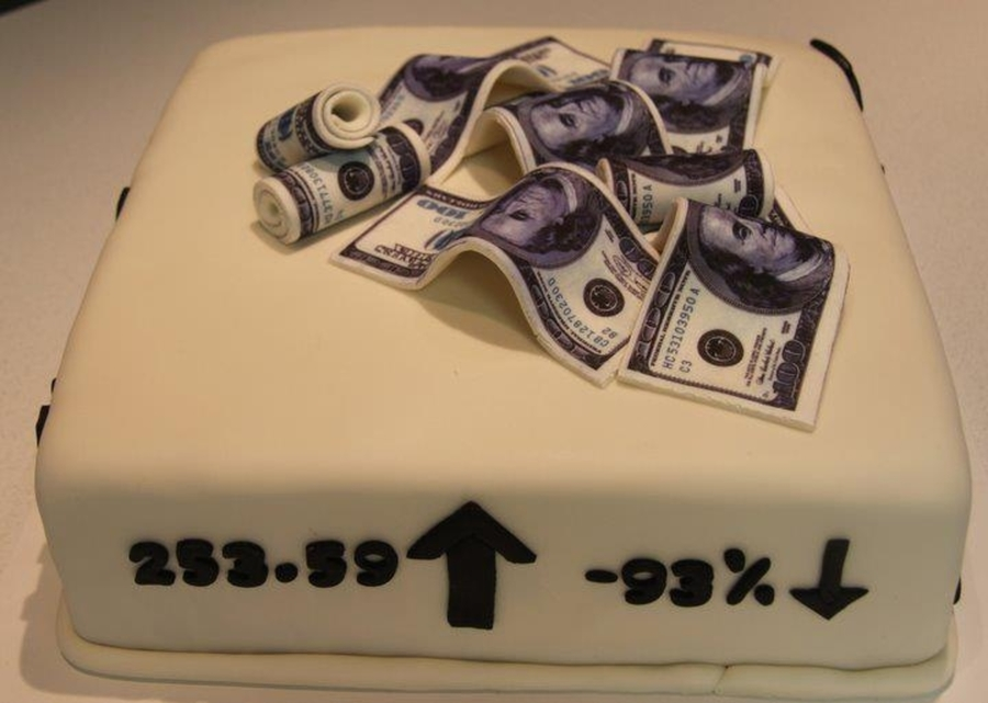 Cake Designs For 18 Year Old Boy : I Love The Stock Market!!! - CakeCentral.com