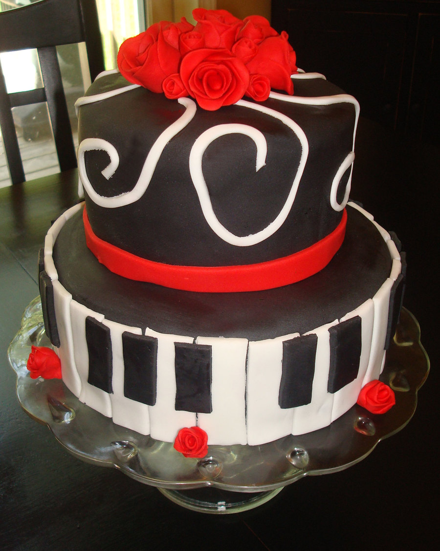 Music Piano Cake on Cake Central