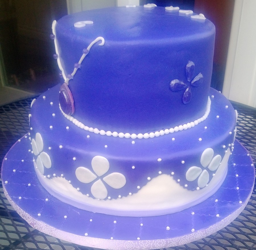 Fabulous Sophia The First Birthday Cake Beginning To Use Isomalt And Birthday Cards Printable Opercafe Filternl