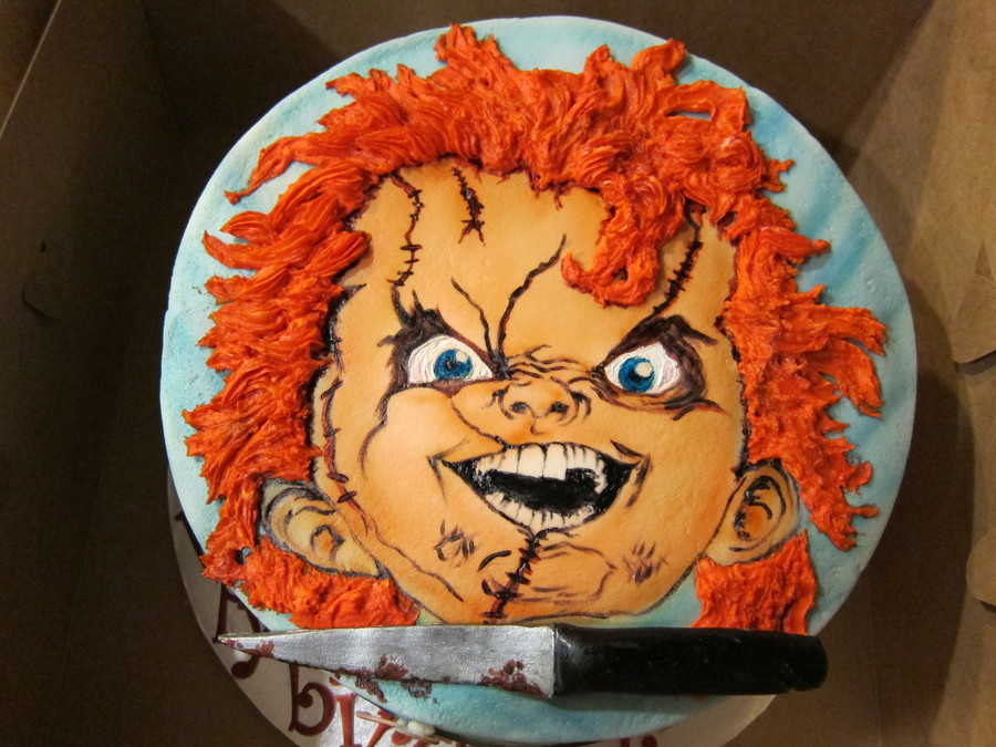 Chucky Doll Birthday Cakes