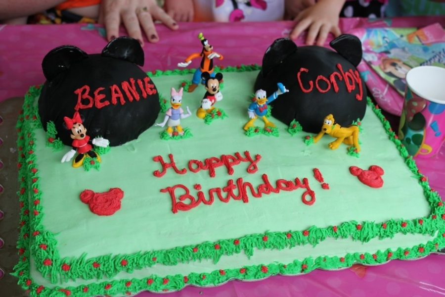 Mickey Mouse Cake  on Cake Central