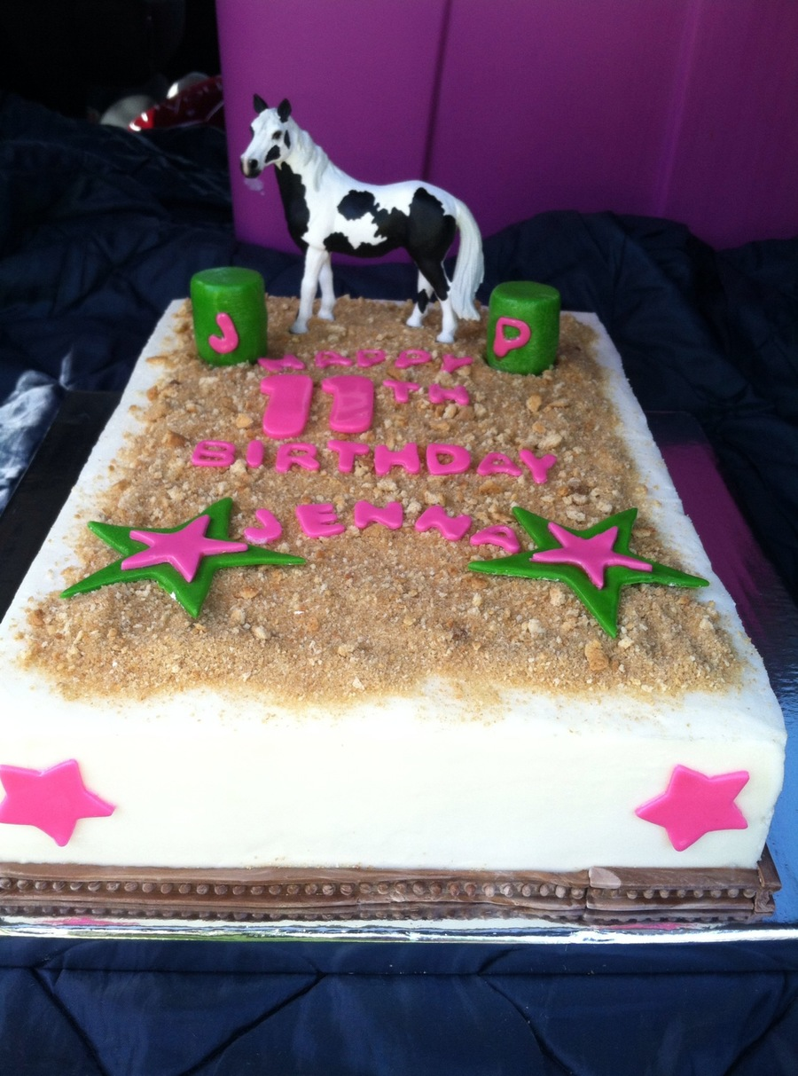 Love Of Horses And Barrel Racing Cakecentral Com