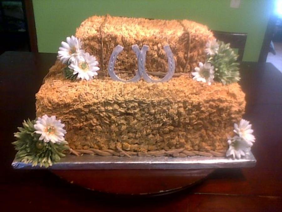 Hay Bale Cake Recipe