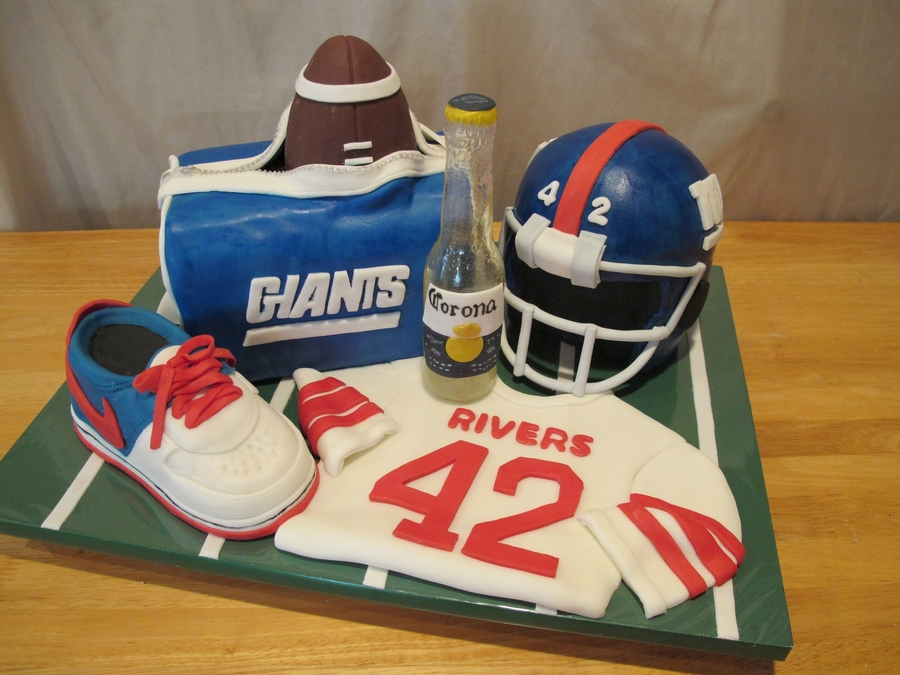Giants Fan Birthday on Cake Central