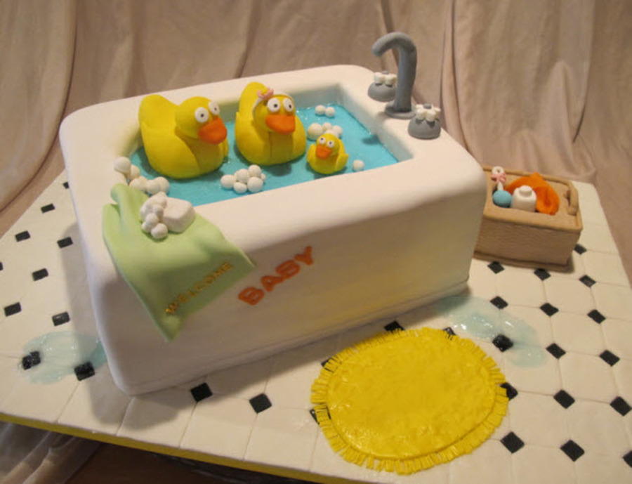 Rubber Duck Family on Cake Central