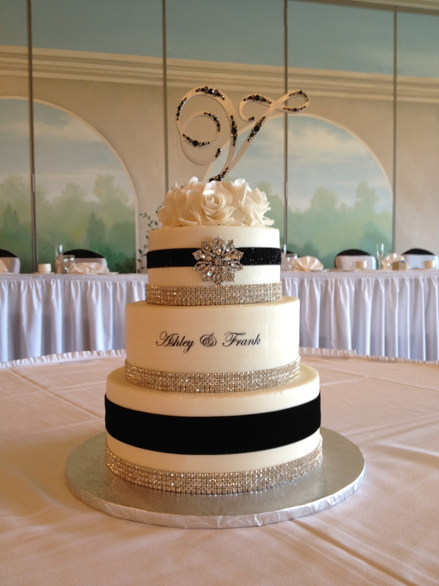 2Nd Wedding Cake on Cake Central