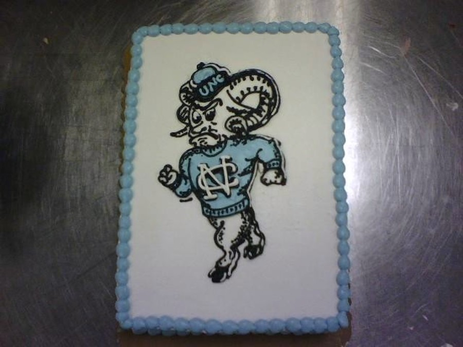 Unc Tar Heels on Cake Central