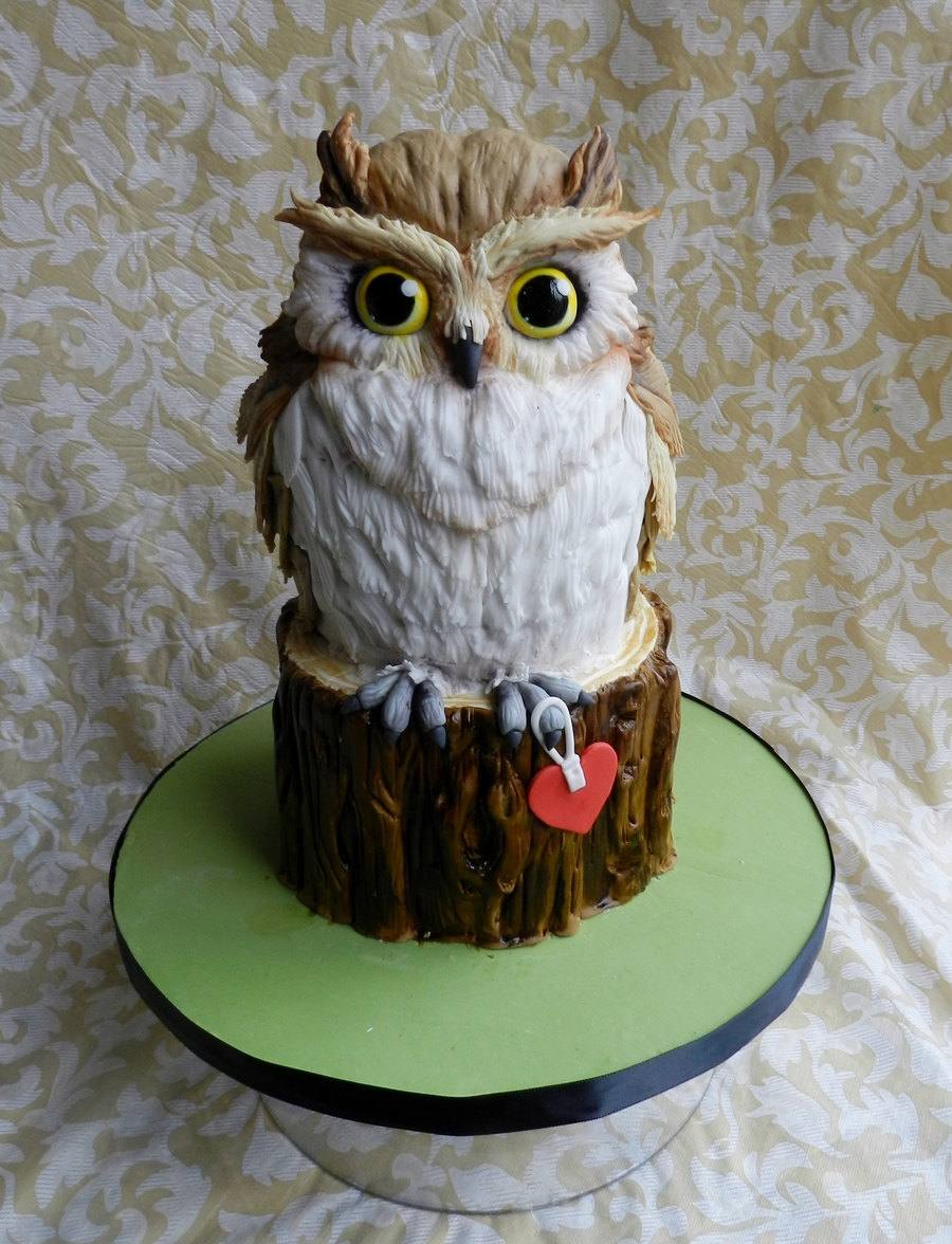 Owl Always Love You on Cake Central