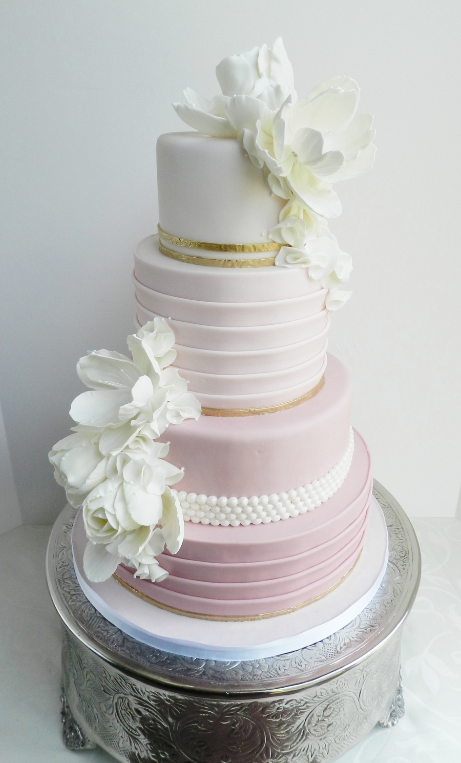 Blush Ombre on Cake Central