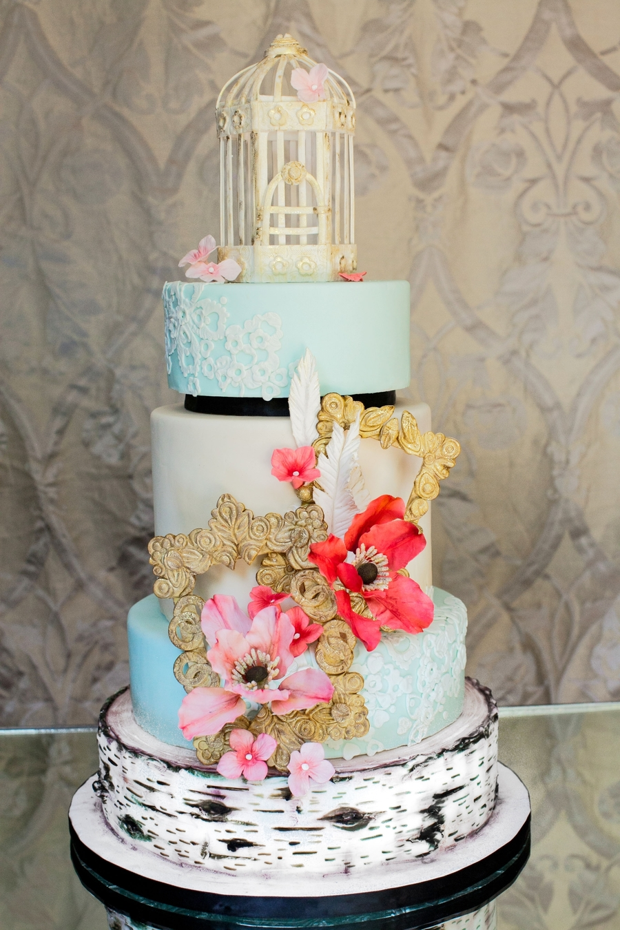 Natural Chic on Cake Central