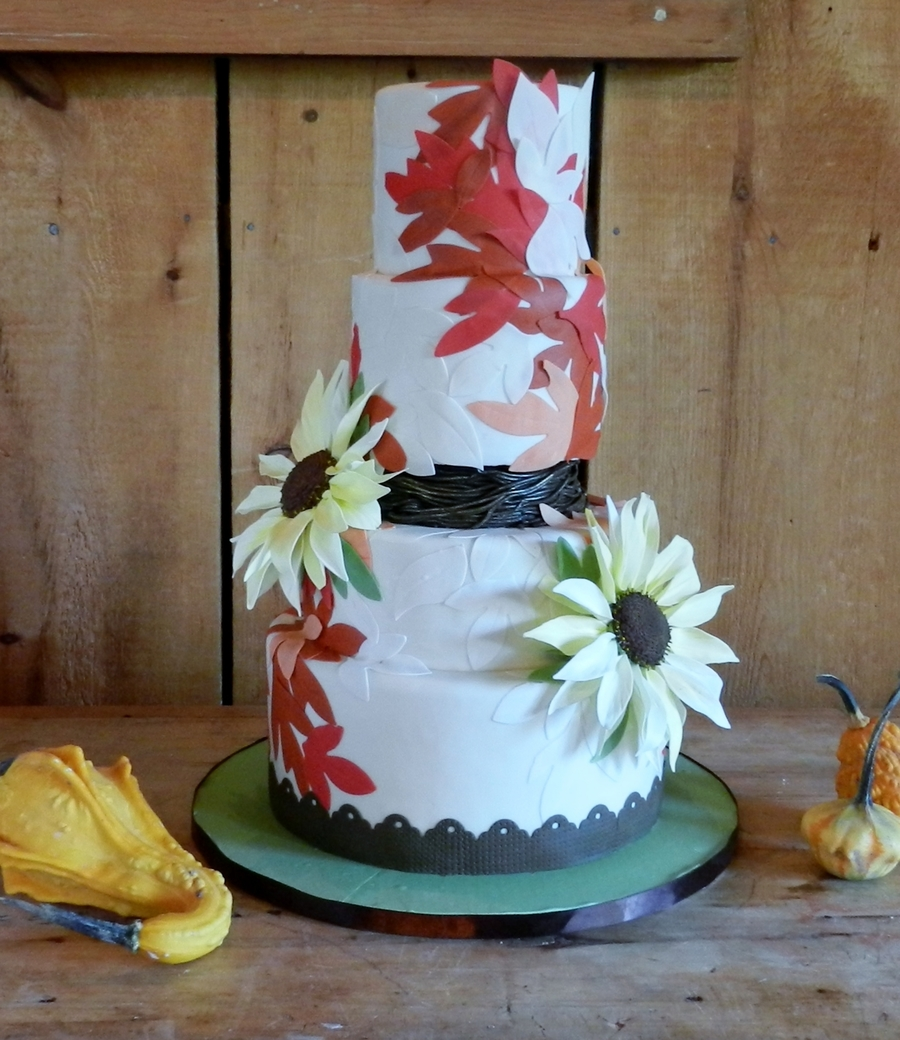 Fall Kisses on Cake Central