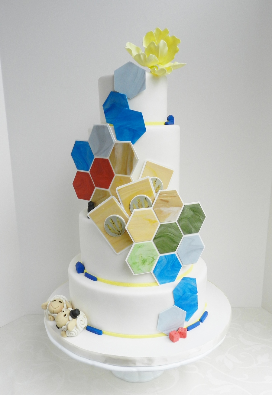 The Settler's Of Catan Inspired Cake on Cake Central