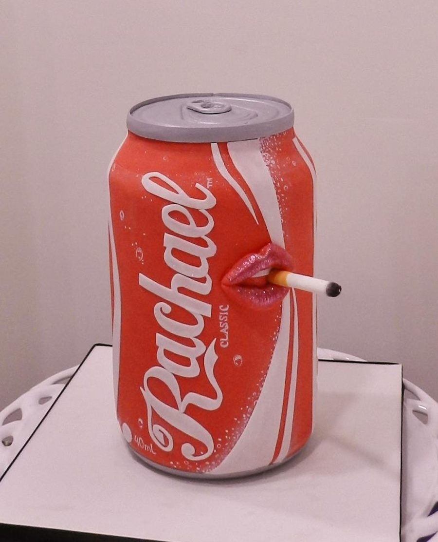 Smoking Pop Can? on Cake Central