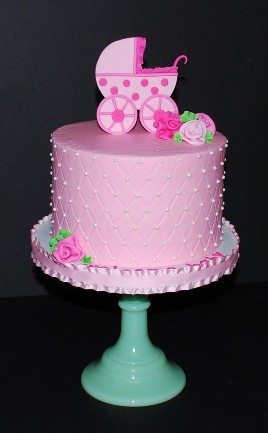 Baby Shower Carriage Cake Cakecentral Com