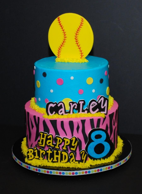 Groovy Bright Funky Birthday Cake Cakecentral Com Personalised Birthday Cards Arneslily Jamesorg