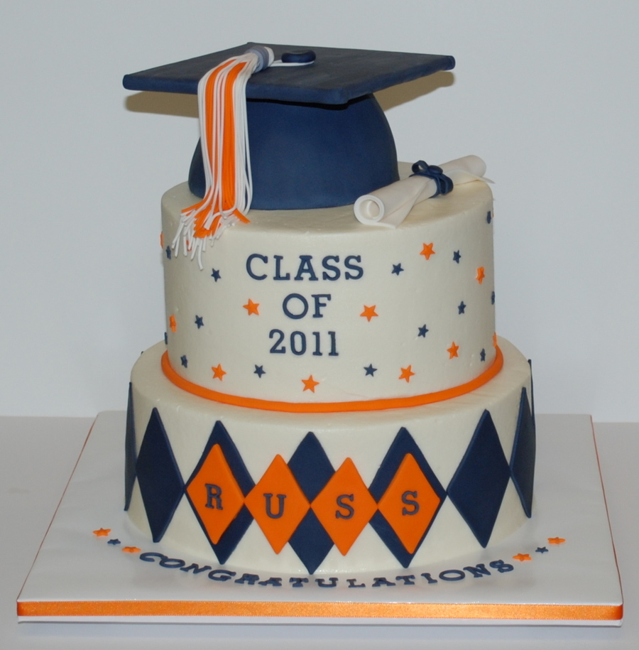 Mortar Board Cake Decorations